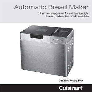 Bread Maker Uk Sparescuisinart